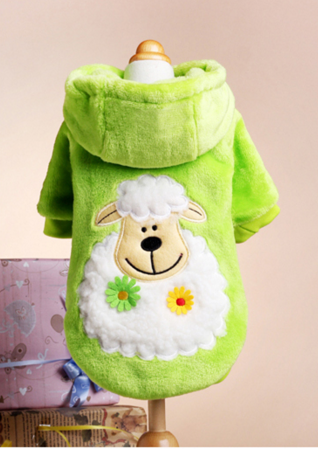 Warm and Fuzzy Fleece Autumn And Winter Jacket for Your Dog