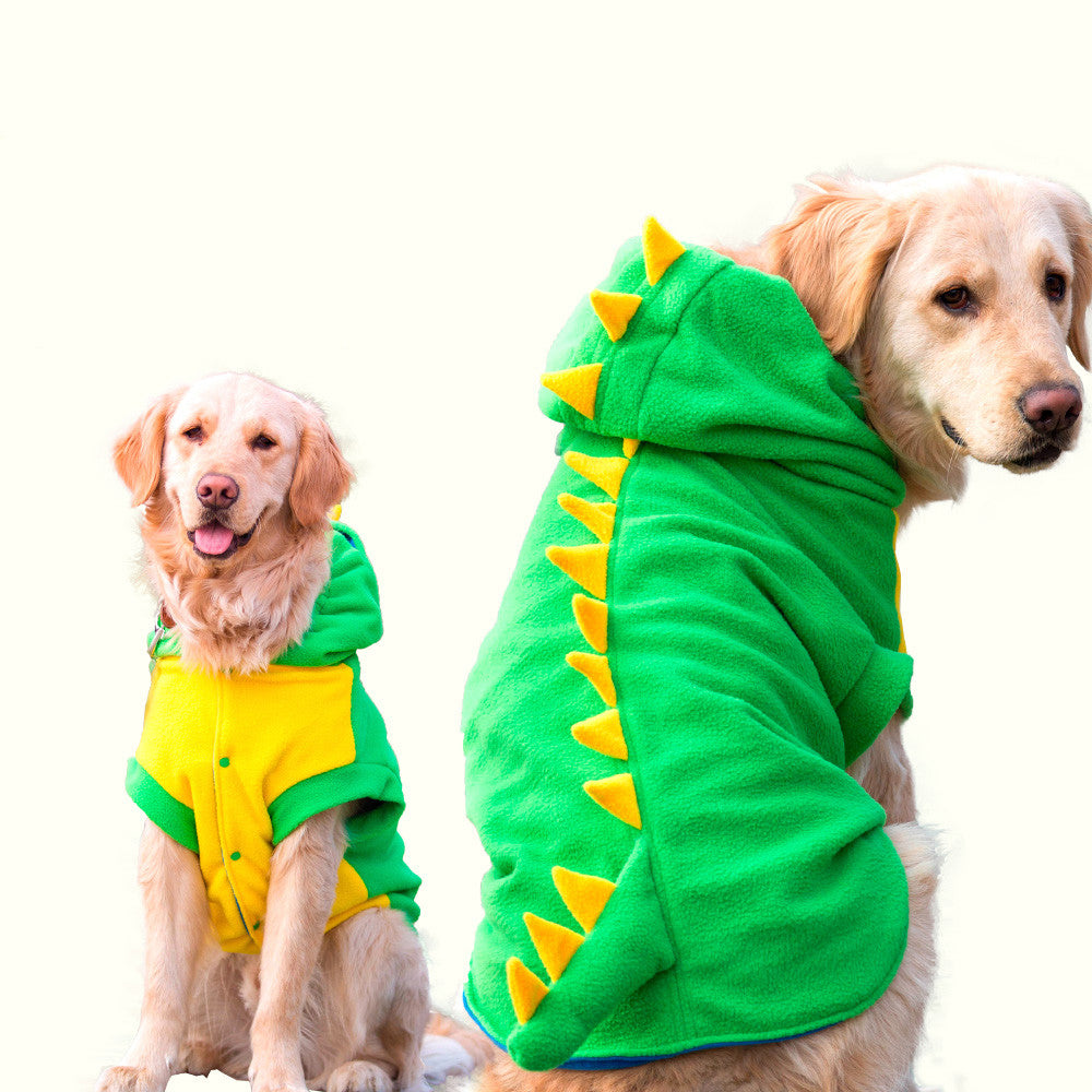 Hilarious Dog / Cat Dinosaur Costume - Larger Dogs