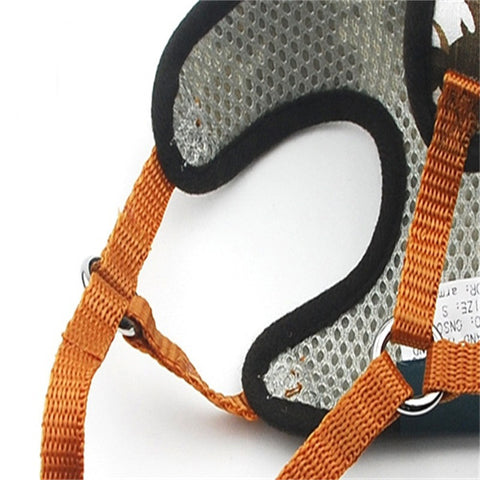 Image of 01 Soft Comfortable Adjustable Safety Vest Harness for all Pets