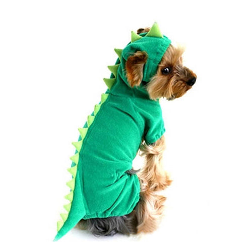 Hilarious Dog / Cat Dinosaur Costume - Smaller Dogs