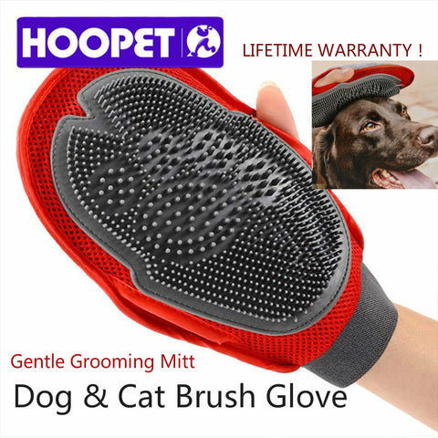 Great New Fur Grooming Comb Massage Bathing Brush Mitt for All Animals