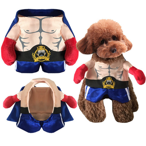 Halloween Boxer Costume for Dogs and Cats