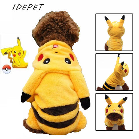 Character Jumpsuit Poke Dog Jacket Costume
