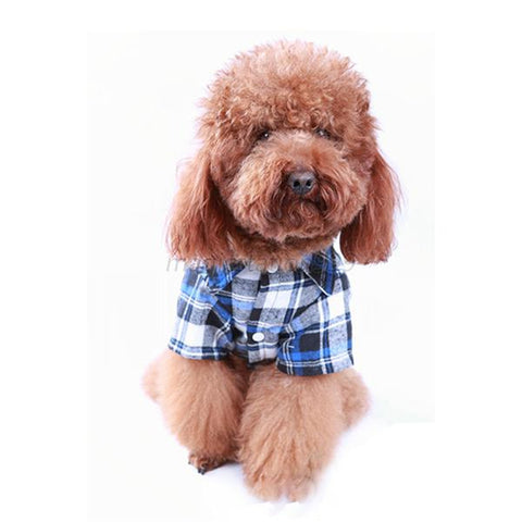 Image of Cool Looking Plaid Shirt for Your Dog or Cat