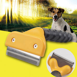 Combo Hair Removal Flea Grooming Comb