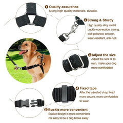 Our Best Selling Strong Nylon Front Leading No Pull No Choke Training Dog Harness Walking Collar & Lead Leash