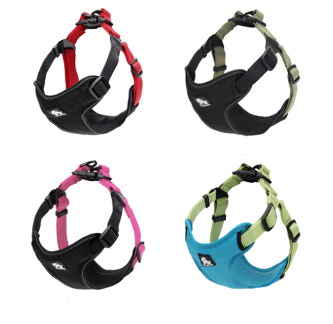 Padded Reflective Dog Harness Vest Pet