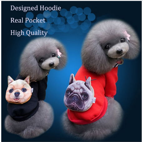 Cotton Dog Hoddies Pet Dog Clothes