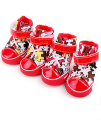 Sneakers Anti-skidding Canvas Shoes For Dogs