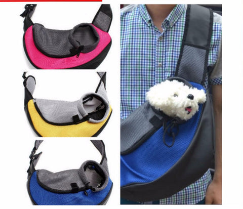 Over the Shoulder Mesh Comfort Carrier Travel Sling for Your Pet