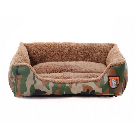 Army Green Big Dog Beds for Large Dog