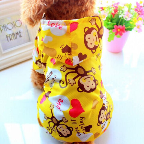 Dog Raincoat For Small Dogs Waterproof Pet Clothes