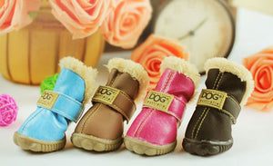 Snow Boots Casual Dog Shoes Pet Slip-Resistant