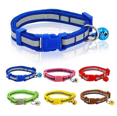 Nylon Reflective Pet dog Collar