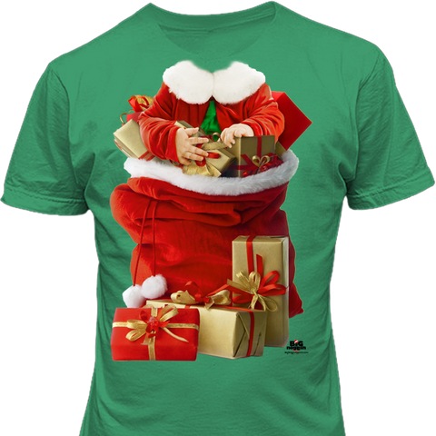 Noggins Santa's Bag Holiday Shirt