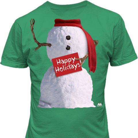 Noggins Holiday Snowman Holiday Shirt