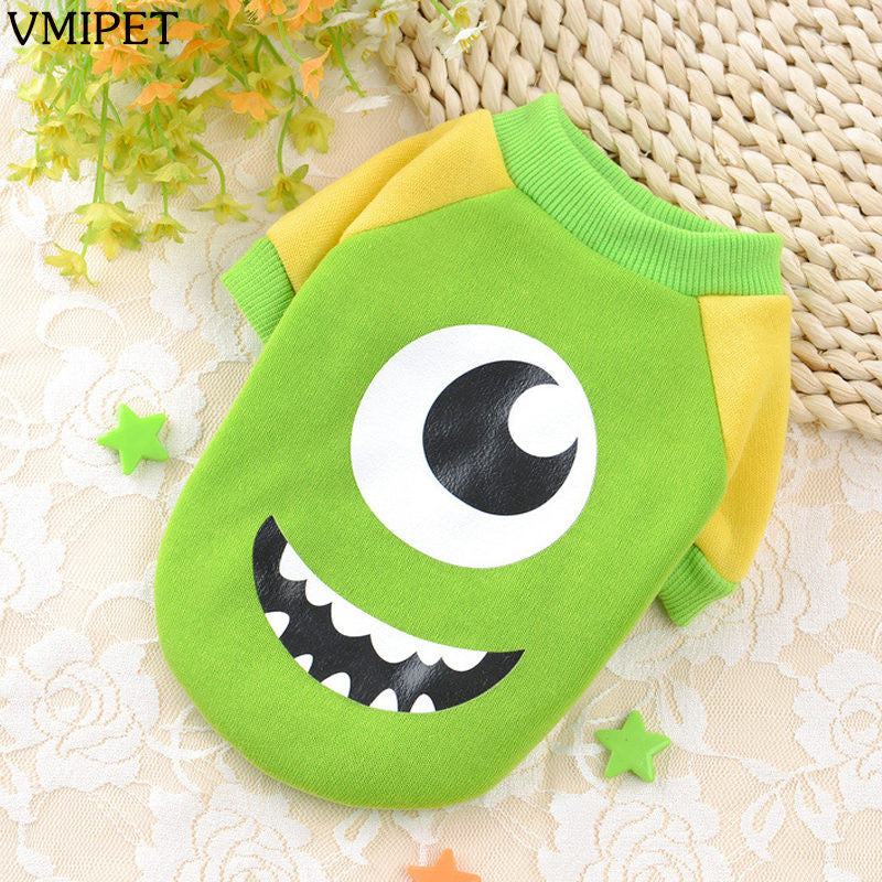 Lovably Cute Character Dog Costume Jackets 10 Styles