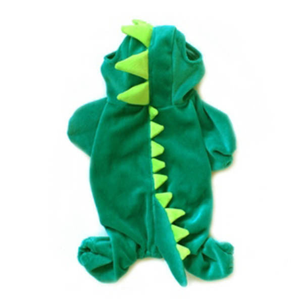 Hilarious Dog / Cat Dinosaur Costume - Smaller Dogs  sc 1 st  Nutz4Mutts Pet Shop & Dinosaur Dog Pet Halloween Costume XS S M L XL Pet Dogs Puppies Cats ...