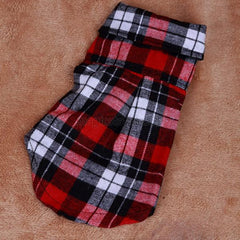 Cool Looking Plaid Shirt for Your Dog or Cat