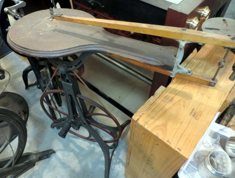 Barnes #1 Amateur Treadle Scroll Saw