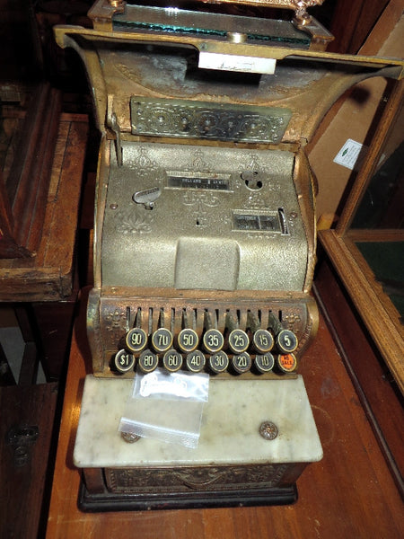 Unusual Small National Cash Register