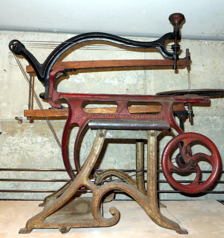 Unique Seneca Falls Scroll Saw Drill Press