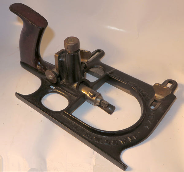 E. W. Lewis Cast-Iron Patented Plane
