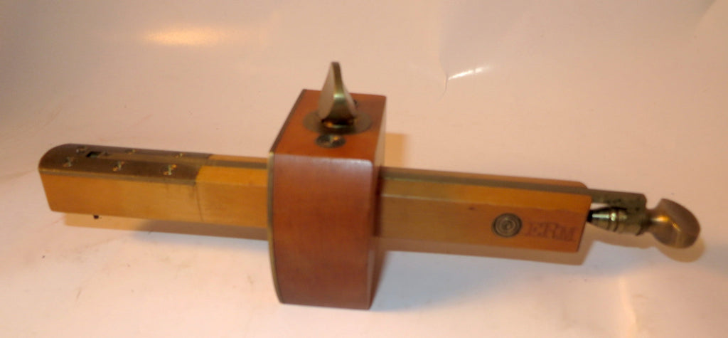 Unused Boxwood and Brass Marking Gauge