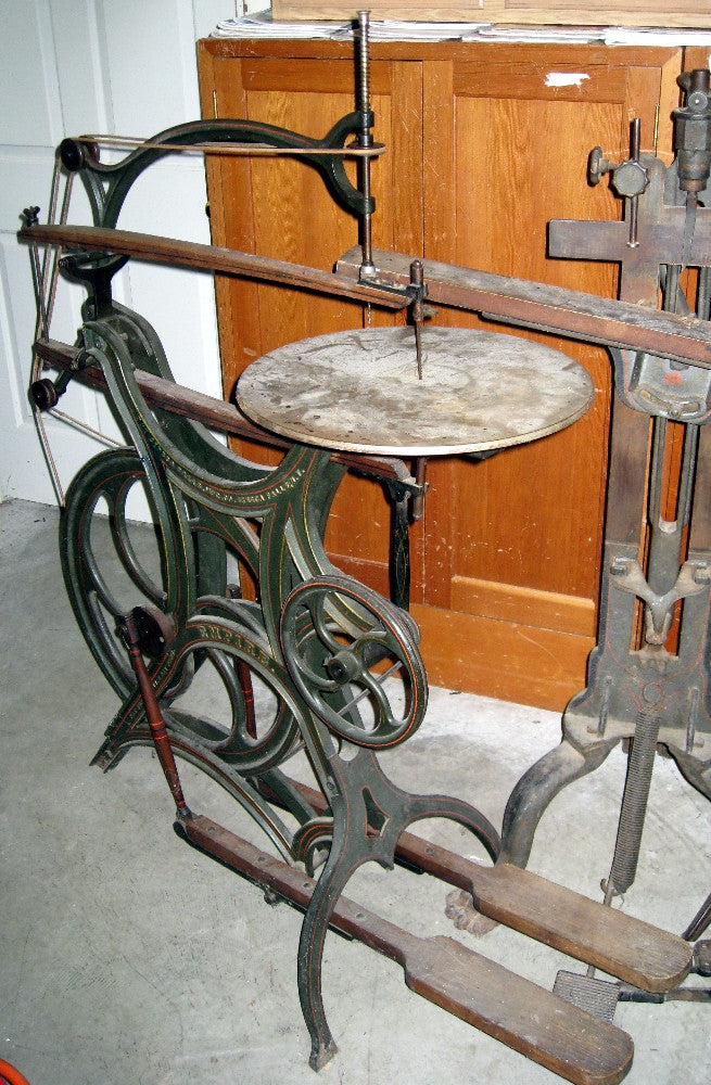 Seneca Falls Empire treadle Scroll Saw