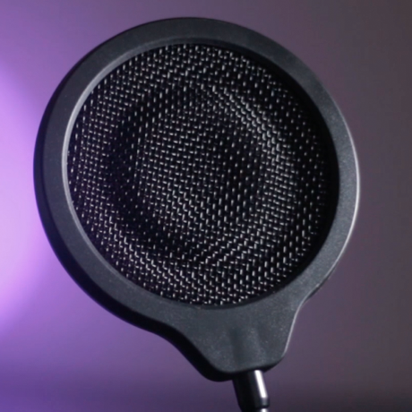 "4"" Wire Mesh Pop Filters"