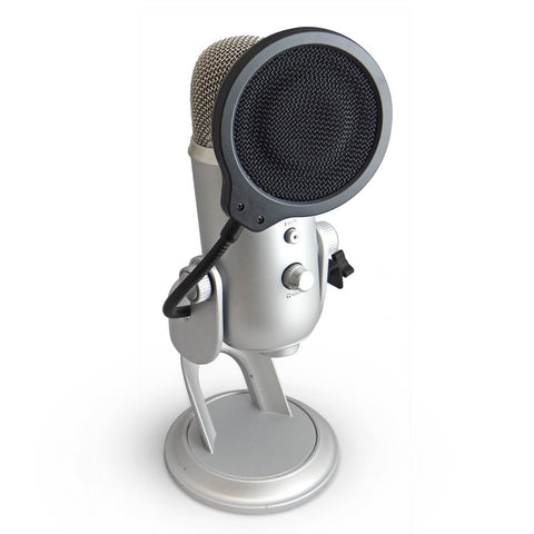 "4"" Pop Filter for Blue Yeti"