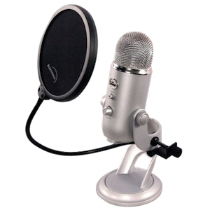 "6"" Pop Filter for Blue Yeti"