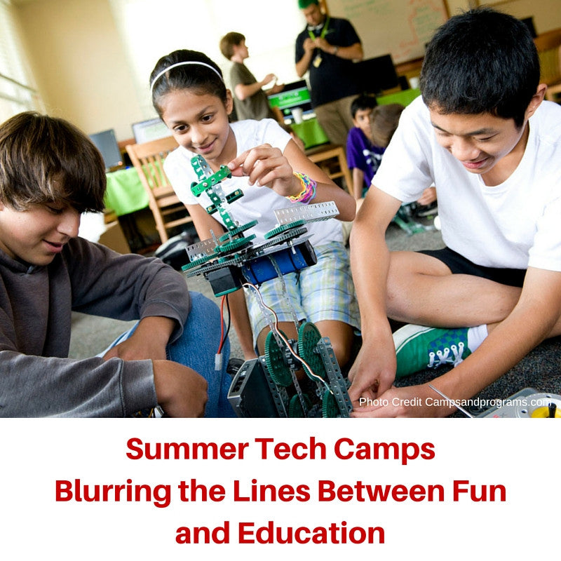Tech Camps: Fun, Hands-on Tech Education for Students This Summer