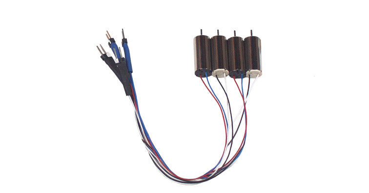 Flybrix Quick-Connect Motor Set 4-Pack