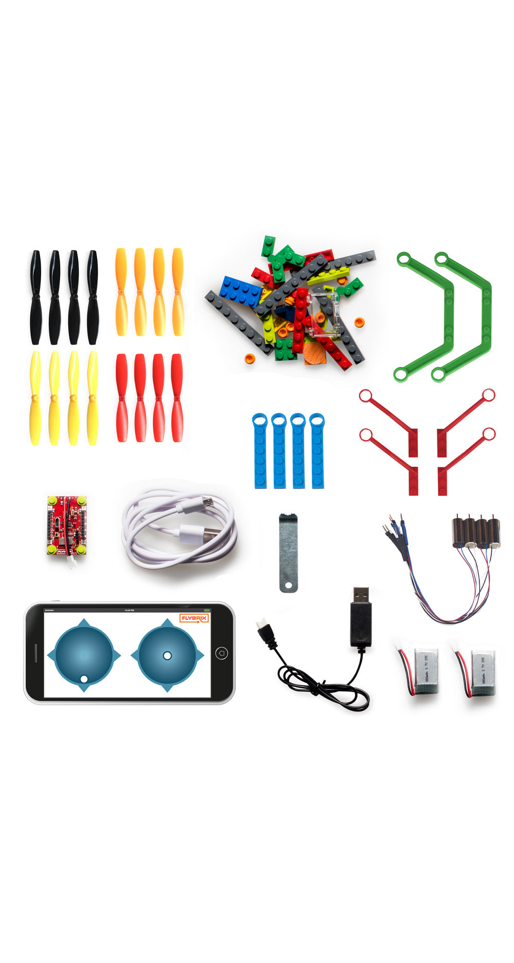 Flybrix Quadcopter Kit Wire Diagram Drone