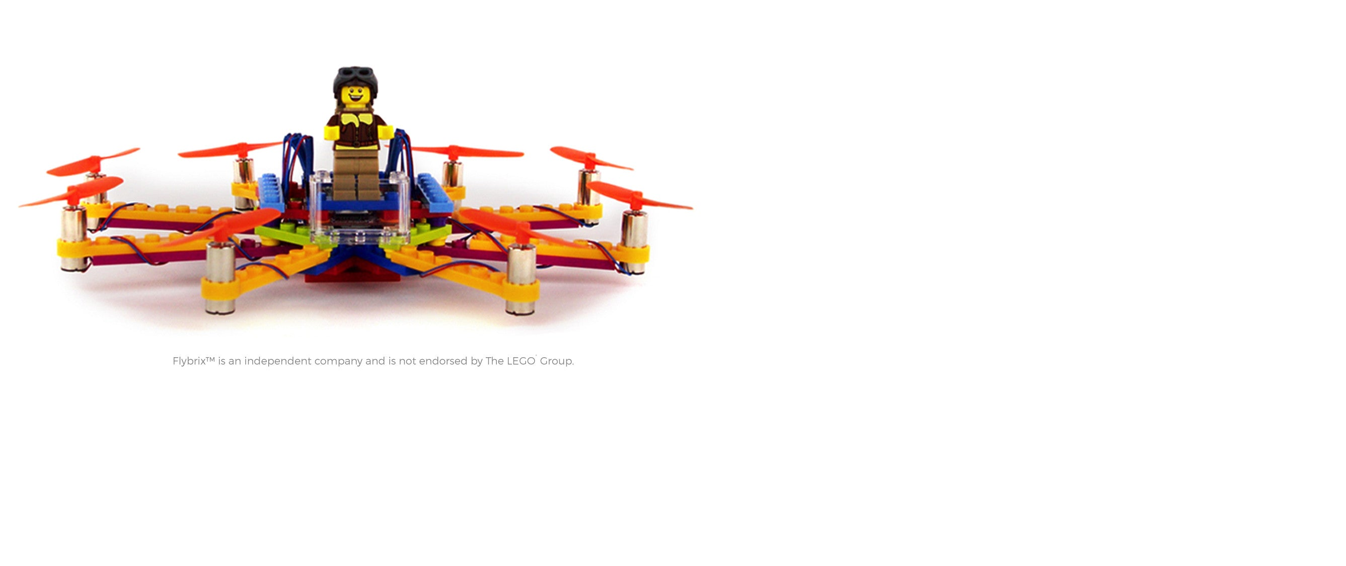 Build your own drones using LEGO® bricks