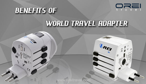 Benefits of world travel adapter