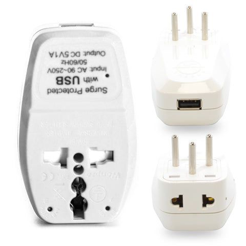 2 in 1 + USB - Type H