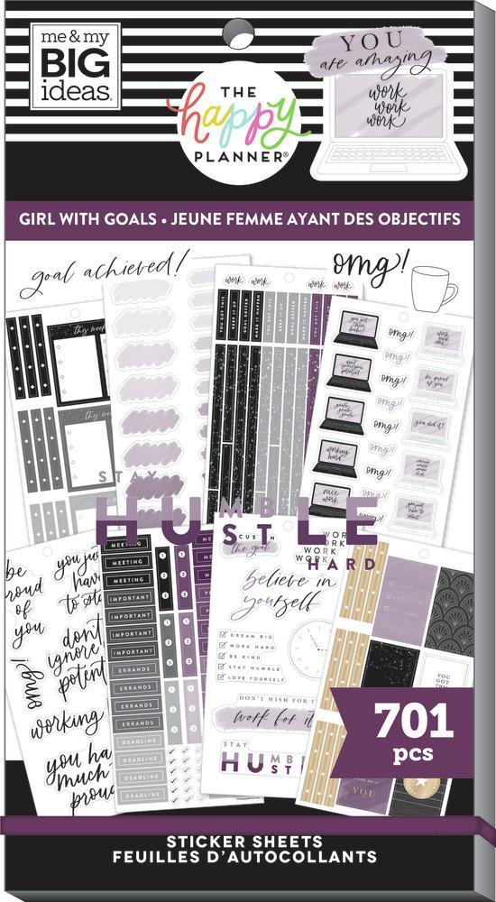 Value Pack Stickers - Girl With Goals