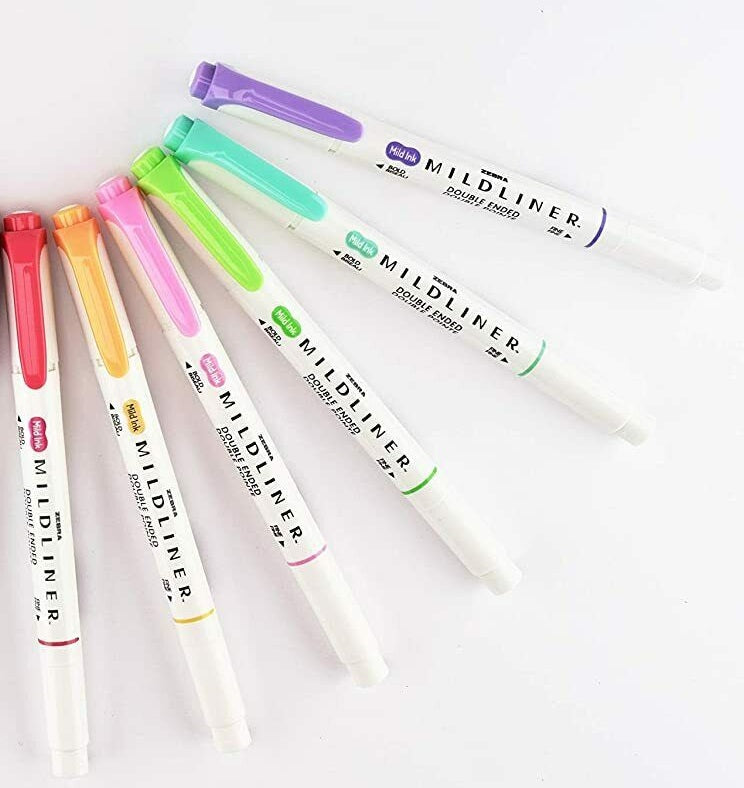 Zebra Mildliner Highlighters -  Singles