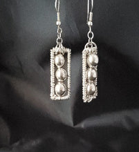 Load image into Gallery viewer, Three Bead Drop Earrings - Jiana Deon