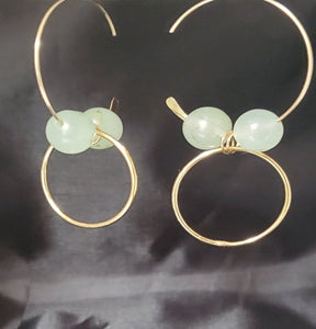 Fiona Hoop Earrings - Jiana Deon