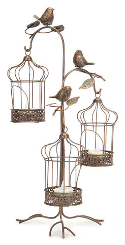 3 Tiered Birdcage Lantern Holder