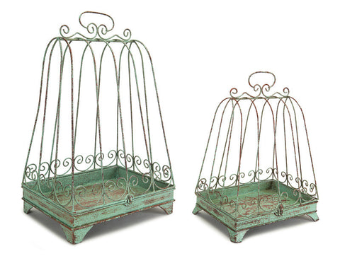 Bird Cage Lantern (Set of 2)