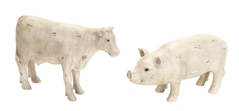 Pig/Cow Table Piece (Set of 2)