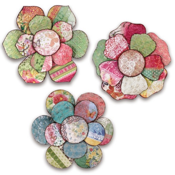 Flower Wall Piece (Set of 3)