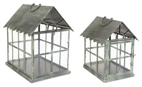 Greenhouse Lantern (Set of 2)