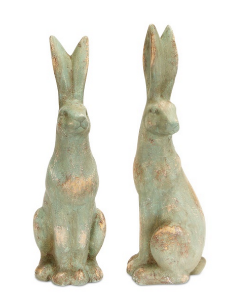 Sitting Bunnies (Set of 2)