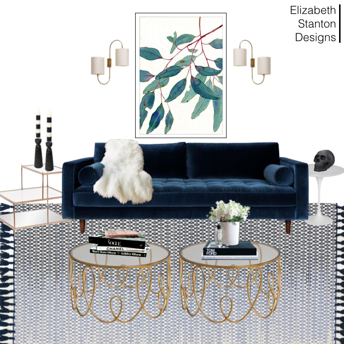 ES9: Glam Living Room