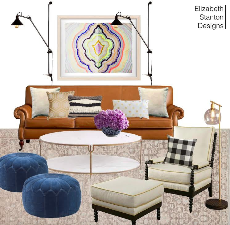 ES5: Transitional Living Room